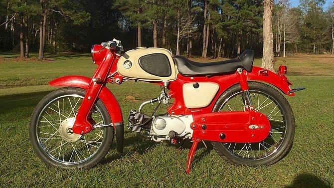 F5 - 1961 Honda C110