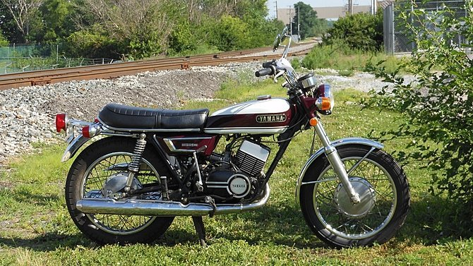 F17 - 1970 Yamaha RD350