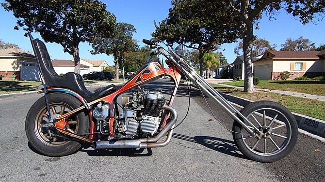 F21 - 1972 Honda CB750 Chopper