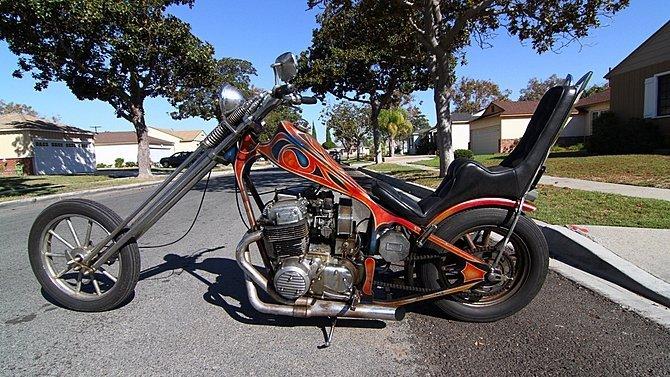 F21 - 1972 Honda CB750 Chopper - 2