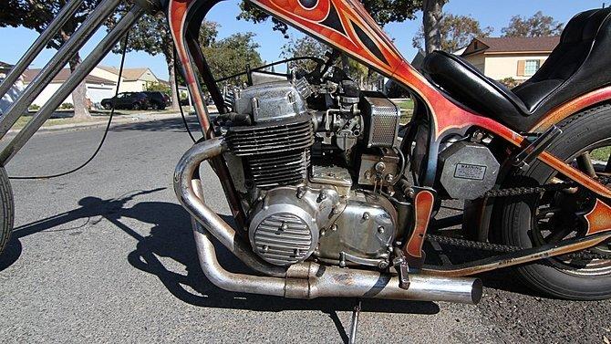 F21 - 1972 Honda CB750 Chopper - 3
