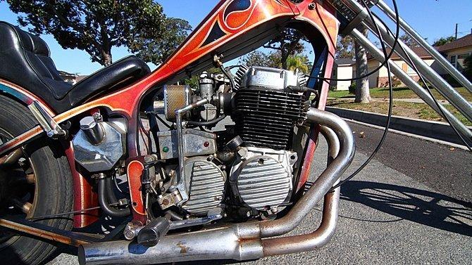 F21 - 1972 Honda CB750 Chopper - 4