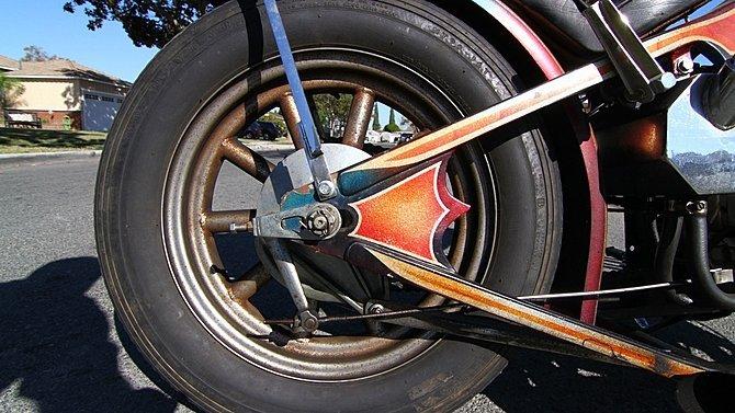 F21 - 1972 Honda CB750 Chopper - 5