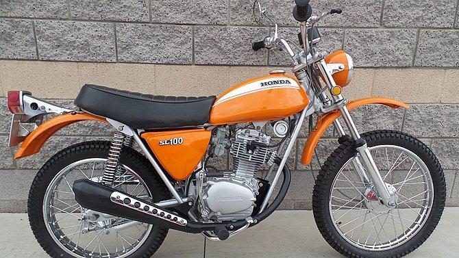 F28 - 1971 Honda SL100
