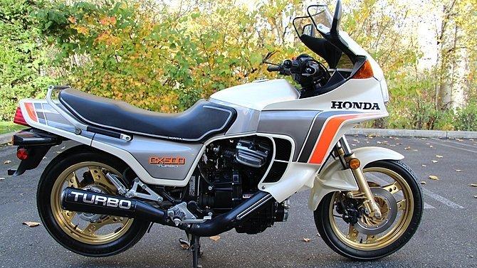 F31 - 1982 Honda CX500 Turbo