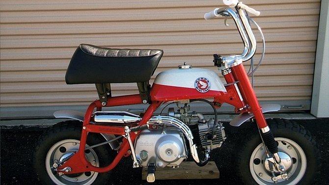 F46 - 1968 Honda Z50 Slant Guard