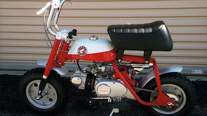 F46 - 1968 Honda Z50 Slant Guard - 2