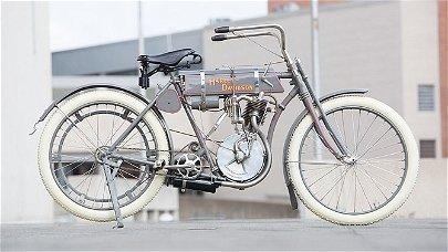 S85 - 1908 Harley-Davidson Strap Tank