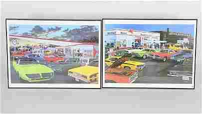 B19 -  10 Dave Snyder Framed Prints