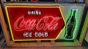 M80 - Drink Ice Cold Coca Cola Neon Sign