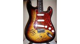 P11 -  Eagles Autographed Guitar