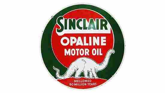 Z1 - Sinclair Opaline Motor Oil Round