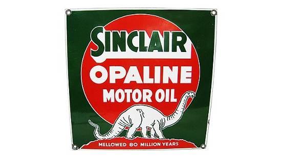 Z2 - Sinclair Opaline Motor Oil Square