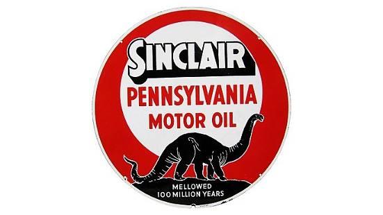 Z3 - Sinclair Penn Motor Oil Round