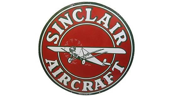 Z5 - Sinclair Aircraft Aviation Sign