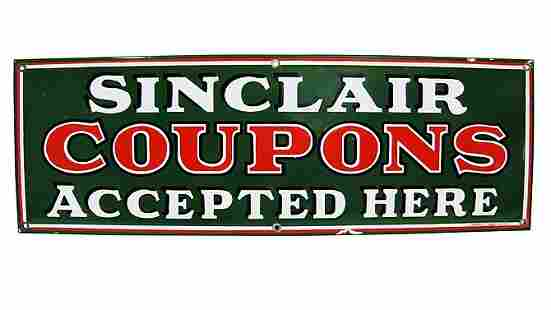 Z6 - Sinclair Coupons Accepted Here