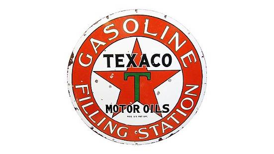 Z10 - Texaco Filling Station Sign