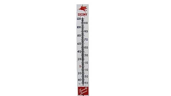 Z19 - Mobil SOCONY Pegasus Thermometer