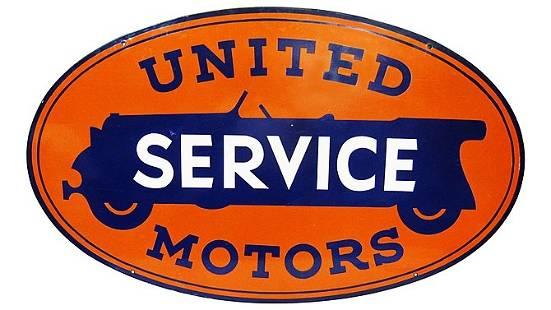 Z20 - United Motors Service Oval Hanging