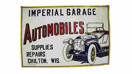 Z24 - Imperial Garage Automobiles Sign