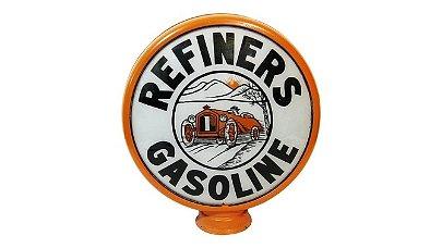 Z44 -  Refiners Gasoline Gas Pump Globe