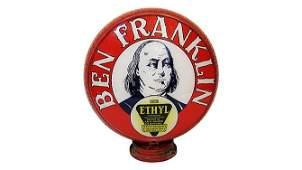 Z196 - Ben Franklin Ethyl Gas Pump Globe