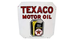 Z443 - Texaco Motor Oil Clean Clear Golden