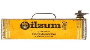 Oilzum Under The Seat Service Half Gallon Can