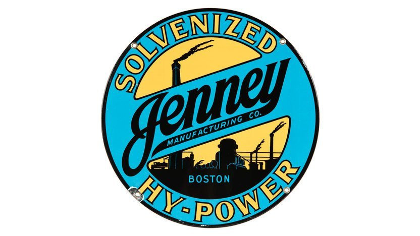 Jenney Solvenized Hy-Power PP Sign SSP 12 Inches