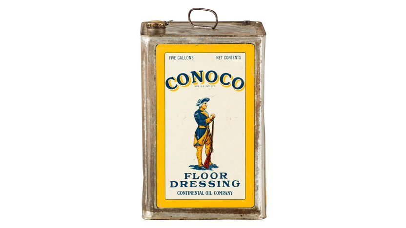 Conoco Floor Dressing Oil Five Gallon Oil Can