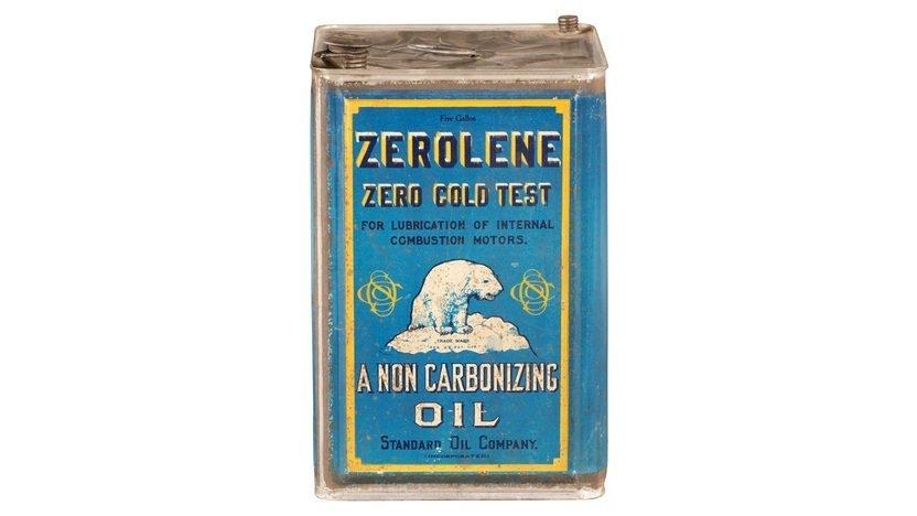 Zerolene Zero Cold Test A Non Carbonizing Oil Standard