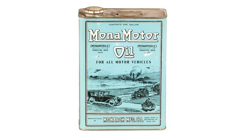 Mona Motor Oil For All Motor Vehicles One Gallon Oil