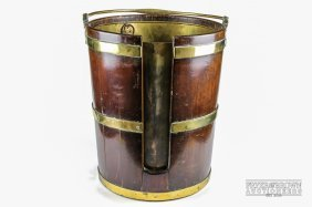 A Fine And Large Irish George Iii Mahogany And Brass
