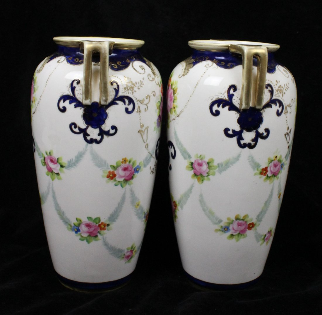 A Chinese fammile verte porcelain coffee tete a tete - 4