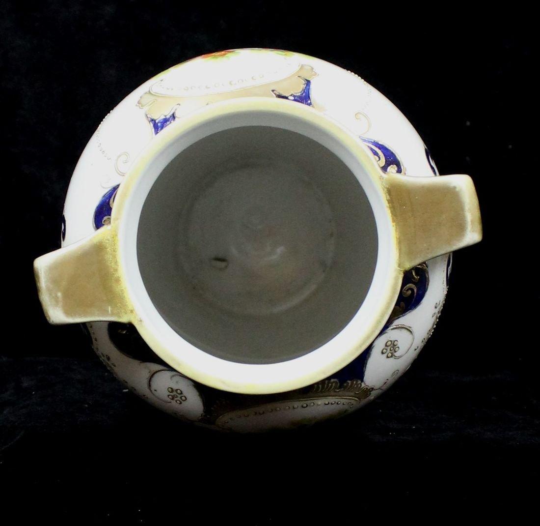 A Chinese fammile verte porcelain coffee tete a tete - 8