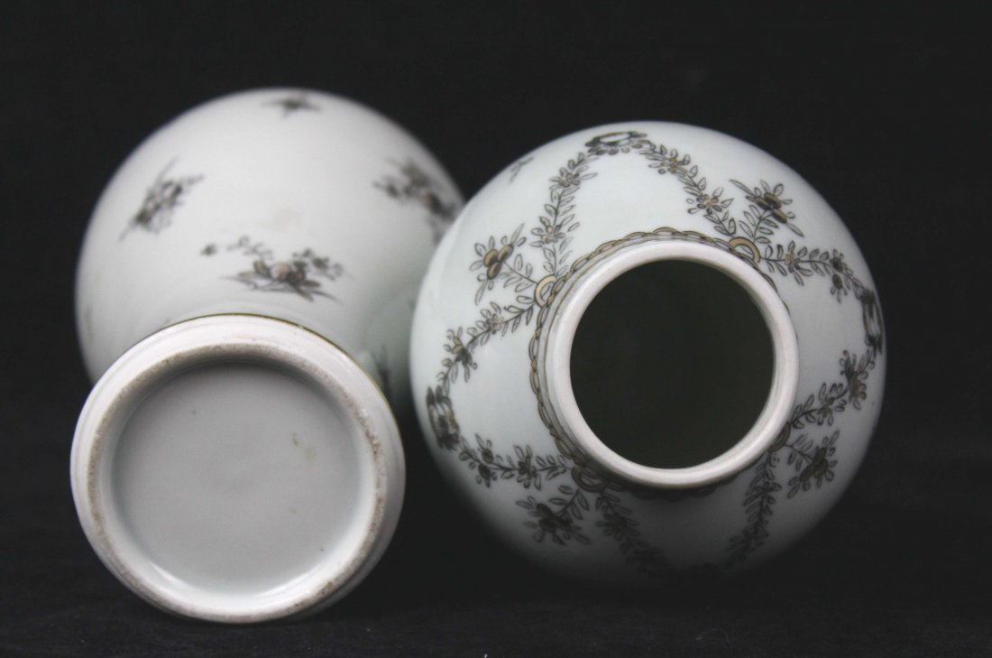 A pair of Samson porcelain vases and covers, in Chinese - 4