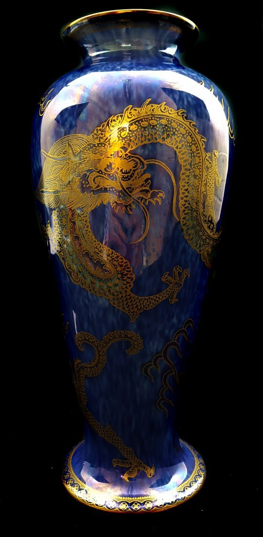 Daisy Makeig Jones for Wedgwood, a baluster form vase,