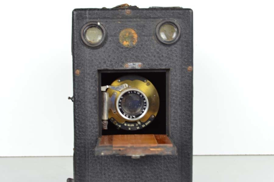 A vintage falling plate camera with Beck symmetrical - 2