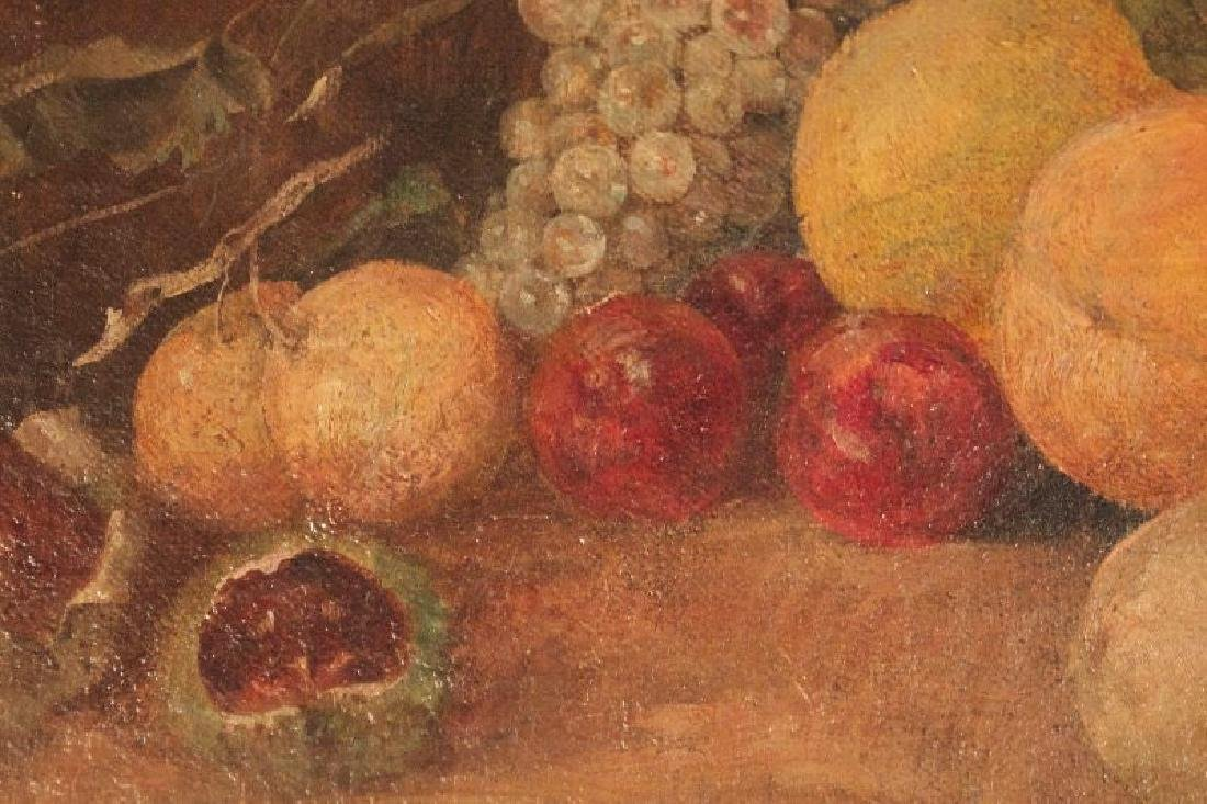 19thc. American School, Still Life with Fruit - 3