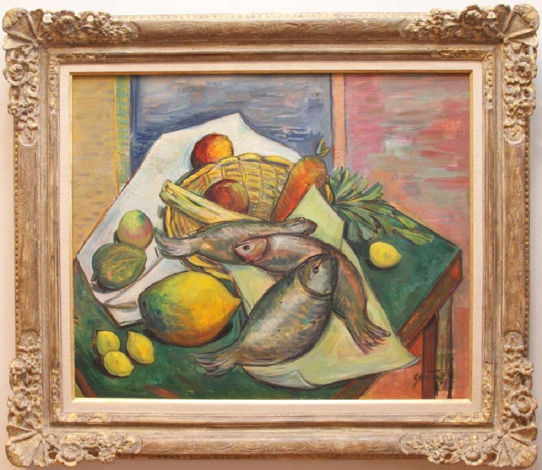 Still Life with Fish, Fruit and Vegetables - 2