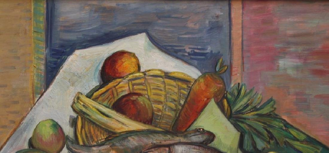 Still Life with Fish, Fruit and Vegetables - 3