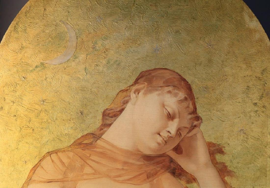 Alexandre Sandier (French 1843 - 1916)  Night and Day - 5