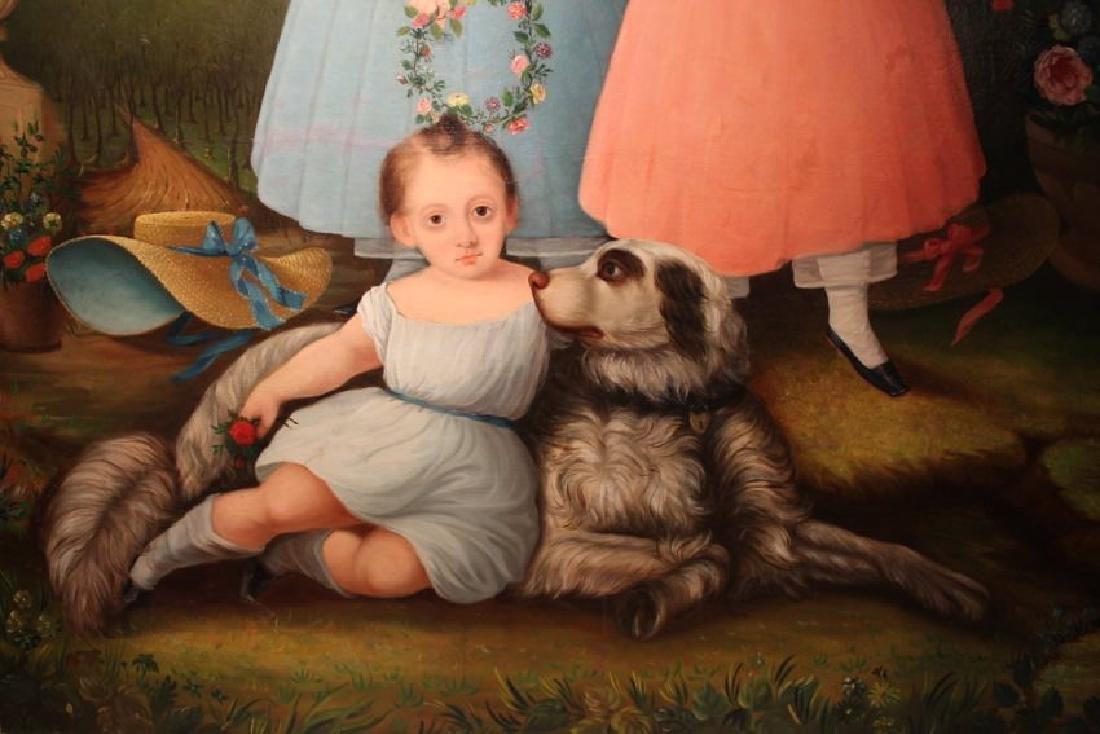 American Provincial Portrait, c. 1840 - 6