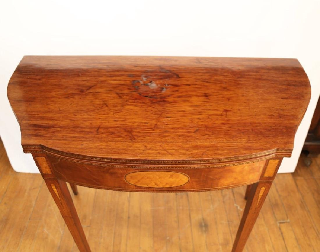 Pair of American 18th Century Matching Game Tables - 3