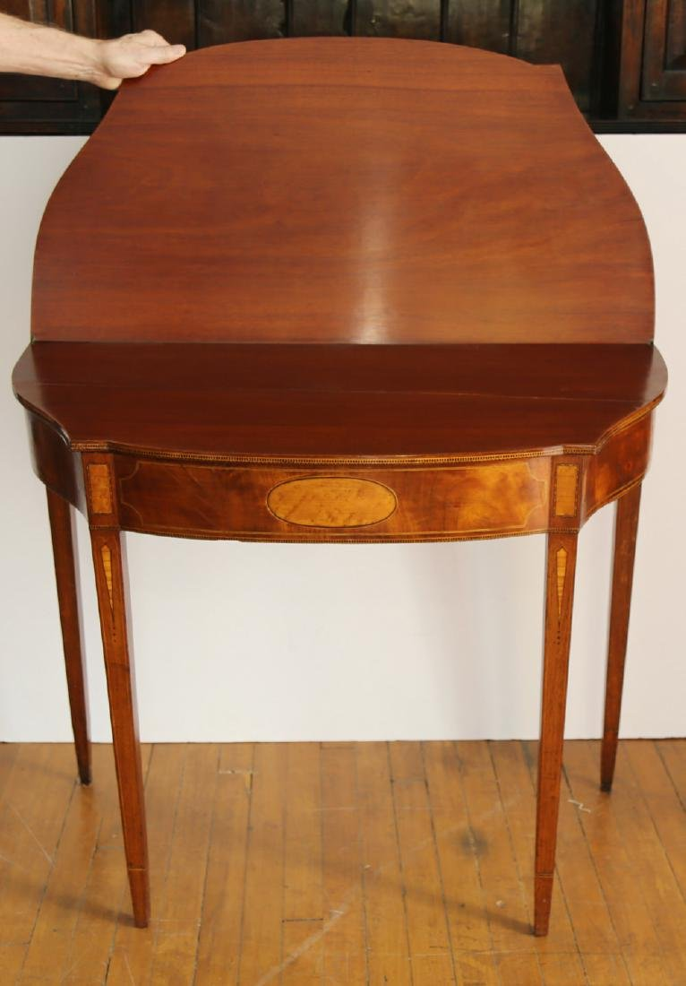 Pair of American 18th Century Matching Game Tables - 4