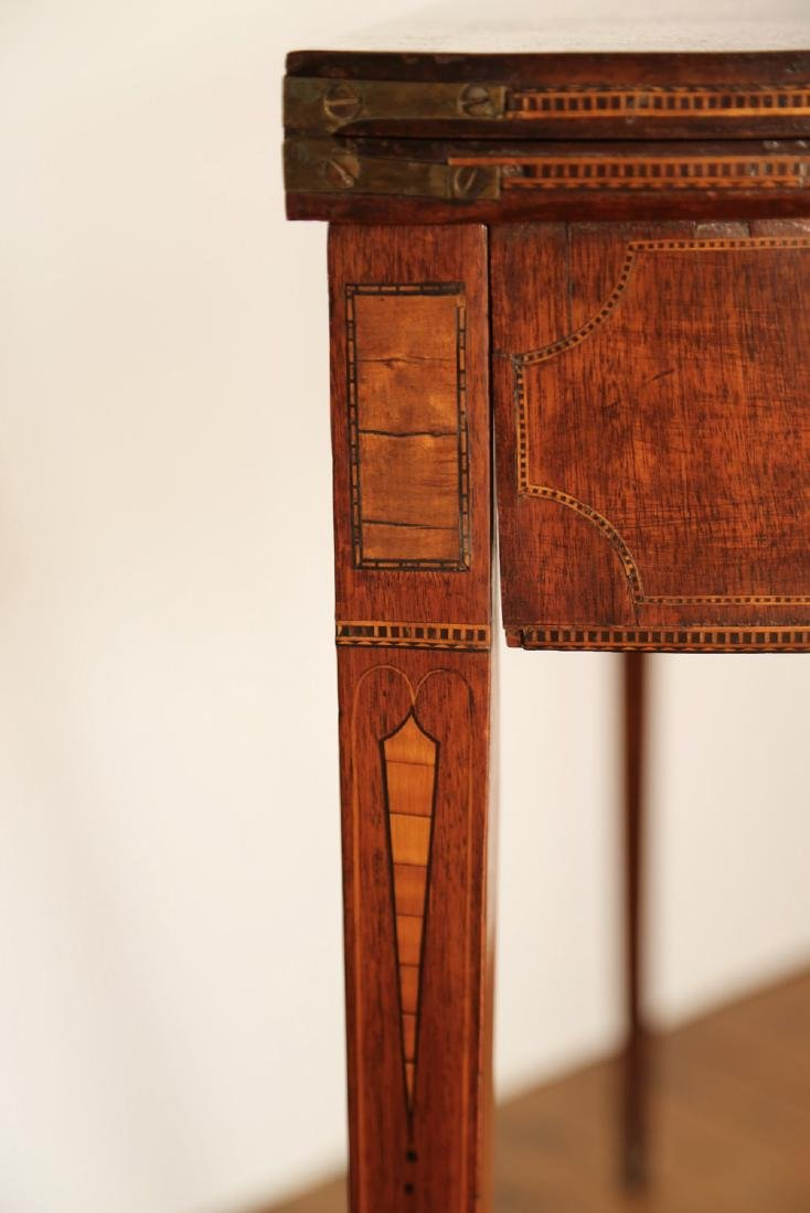 Pair of American 18th Century Matching Game Tables - 6