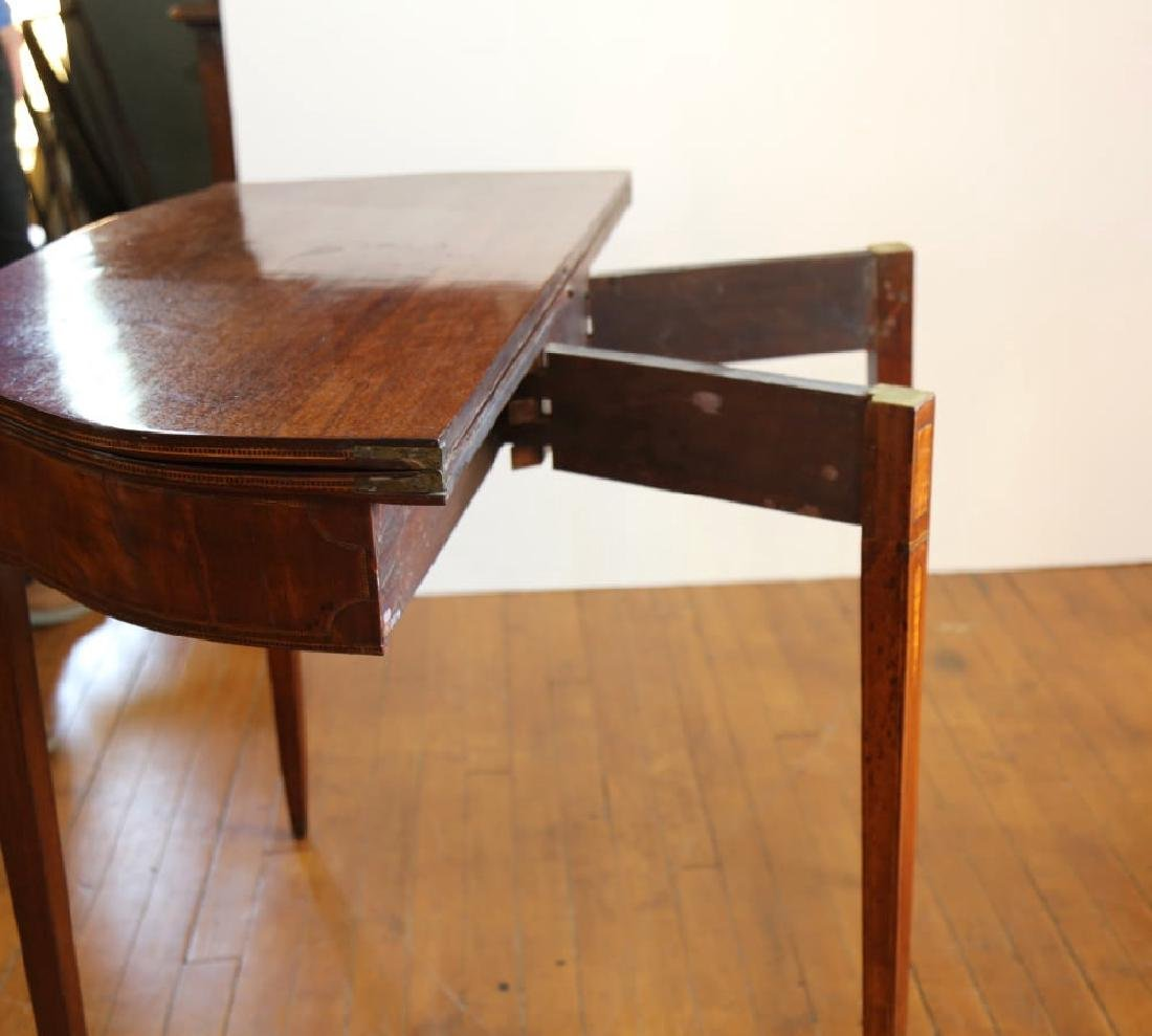 Pair of American 18th Century Matching Game Tables - 8