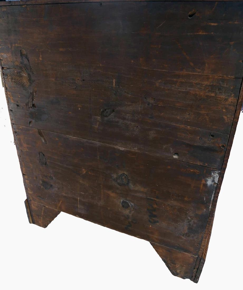 18th Century American Tiger Maple Slant Lid Desk - 9