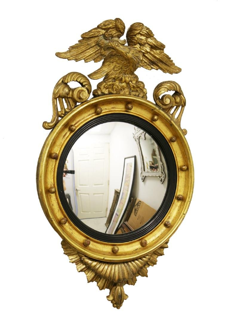 American Federal Convex Mirror, 1820