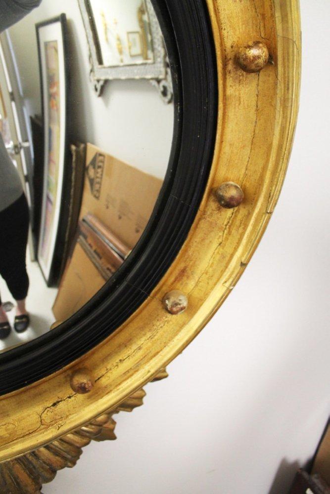 American Federal Convex Mirror, 1820 - 5